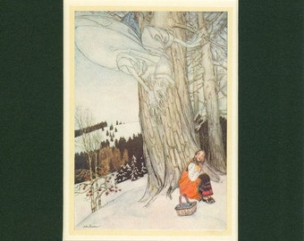 Vintage Frost Print from 1923 A Fairy Story