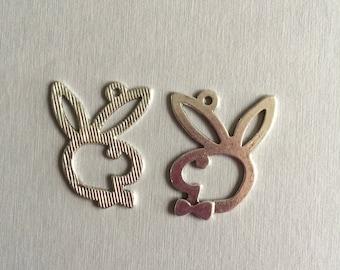 "Rabbit: ""head and bunny ears"""
