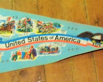 1776 United States of America pennant full size