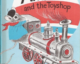 Anatole and the Toyshop Vintage Weekly Reader Children's Book Club Book by Eve Titus Illustrated by Paul Galdone