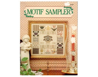 Cross Stitch Sampler, Sampler Cross Stitch Pattern, Samplers, Cross Stitch Leaflet, Cross Stitch Sampler, Sampler, NewYorkTreasures on Etsy