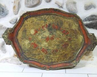 Italian Florentine tray