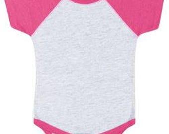 Infant Baseball Bodysuit w/ Custom Print!