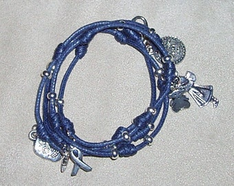Elastic thread bracelet, various colors.