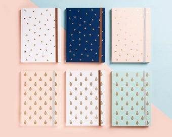 PLANNER/DIARY | Gold Foil 2018 | Monthly Planner | Free Notes | 365 Days | To do List | Calendar 2018 | Journal | Christmas Gift | Undated