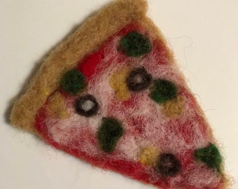 Felted Pizza Slice