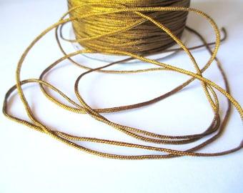 5 m nylon string Brown Gold 1.5 mm
