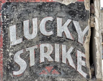 Lucky Sign, Bowling Theme Art, Lucky Strike Photo