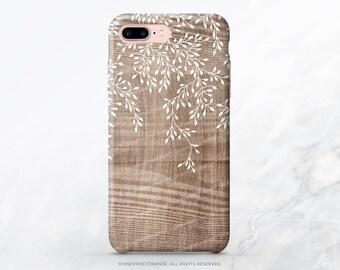 iPhone X Case iPhone 8 Case iPhone 7 Case Wood Floral iPhone 7 Plus iPhone 6s Case iPhone SE Case Tough Galaxy S7 Case Galaxy S8 Case I146