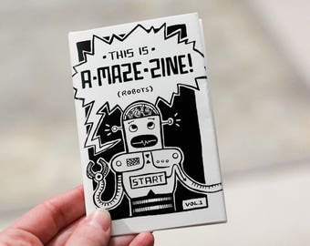 These Zines are A-Maze-Zine! (multiple styles)