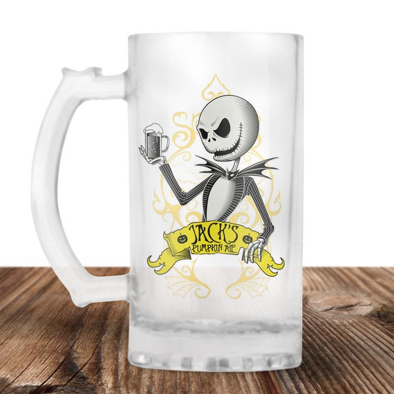 Jack Skellington Beer Stein- Nightmare Before Christmas Beer Mug