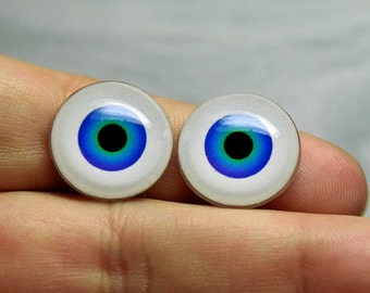 Doll eyes 17mm AD color BlueGreen