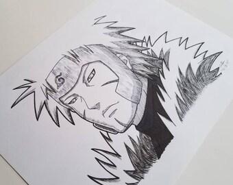 Tobirama Senju - Naruto Shippuden - Anime Art