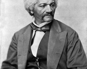 Frederick Douglas Portrait Photo, 1870, Abolitionist, African American Slavery, Suffragist, American, African American, Black History