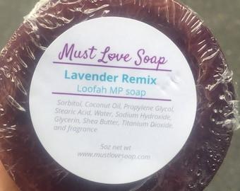 Lavender Remix Loofah Soap
