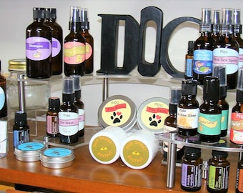 Dog Essential Oils..Sir Dudley's Fido EO Topical/Aromatherapy Use, All Natural, Holistic, Organic, Wellness & Health, Diffuse