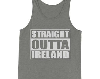 Straight Outta Ireland Jersey Tank Top for Men