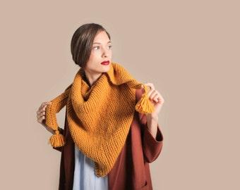 Kit de tricot écharpe Clerkenwell