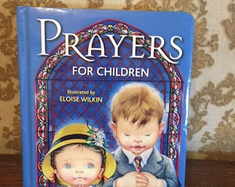 Prayers for Children Book Illustrated by Eloise Wilkin