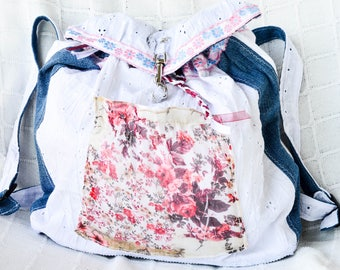 Backpack Romantic Flower