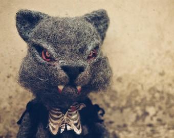 Wolf plush art toy