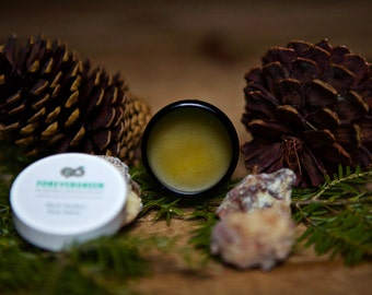Pine Salve, Pine Resin, Pitch Pine, Skin Care, Salve