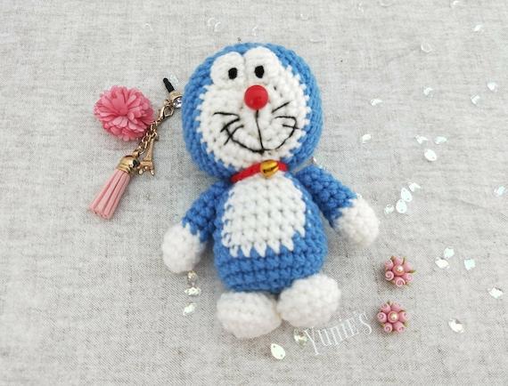 Amigurumi Doraemon Free Pattern : Crochet doraemon doraemon doll amigurumi doraemon crochet