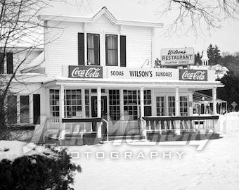 Wilson's Restaurant & Ice Cream, Ephraim, Door County, Wisconsin Photo Digital Download