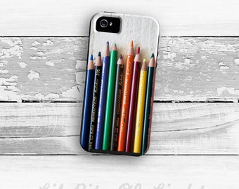Art iPhone 8 Case - iPhone 8 Plus Cover - Colored Pencil case iPhone 7 Case - Art iPhone 7 Plus Case - iPhone 6 Plus Case - iPhone 6s Case