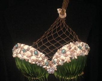 Custom Turquoise Mermaid Top