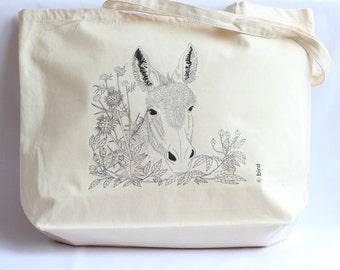 Donkey Canvas Shopper