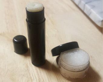 CocoBees Lip Balm and Scrub Gift Set