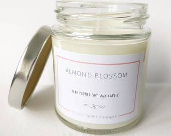 Almond Blossom - Handmade Soy Wax Candle