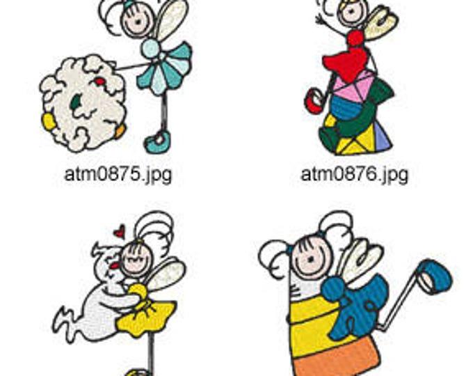 Stick-Fairies-Halloween ( 7 Machine Embroidery Designs from ATW ) XYZ17I