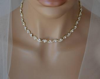 Gold bridal jewelry Etsy