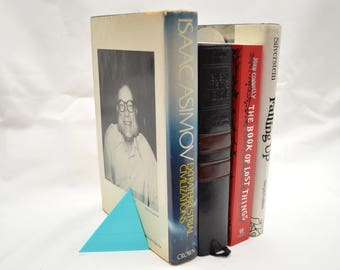 Pyramidal Book Ends (multiple colors available)