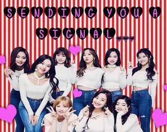 Twice Valentine White Day Me Likey kpop Korea Seoul