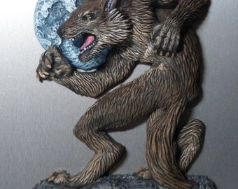 Werewolf Refrigerator Magnet - Halloween decoration monster