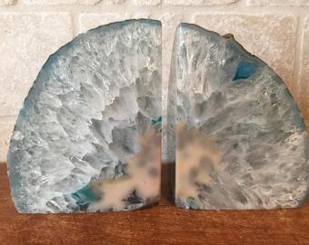 Geode Bookends