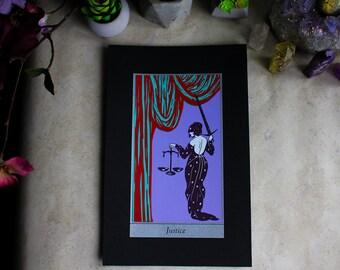 "Justice • 8x12"" Screen print by Amalia Kouvalis"