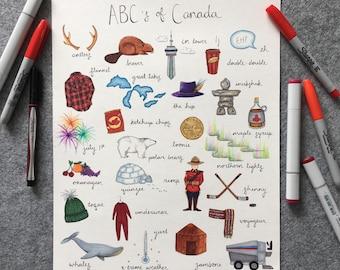 Canadian Alphabet