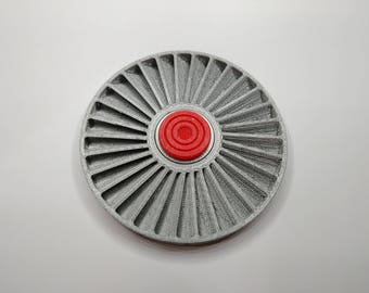 Jet Turbine Fan Fidget Spinner