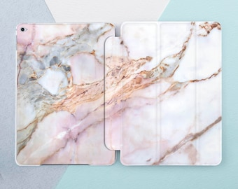 Rose Gold Marble iPad case Marble iPad pro case iPad pro 10 5 case iPad pro 12 9 iPad air 2 case iPad mini 4 case Marble iPad 9 7 case Smart