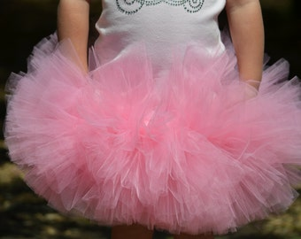 Fluffalicious TUTU Skirt Only - Photo Prop Birthday Infants Toddlers Girls