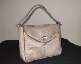 """""""suede"""" handbag"""