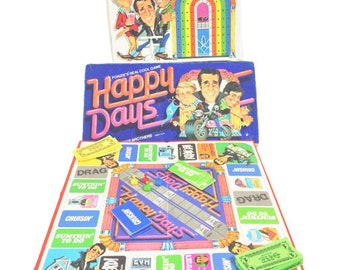 Happy Days Board Game 1976 Complete