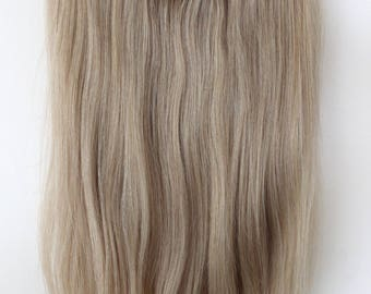 """18"""" HALO- Secret -Miracle wire Easy-to-Install 100% Human Hair extensions/ 18 inches. 115G"""