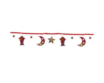 Ramadan Decoration Rope - Red