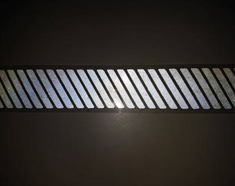 Iron on Reflective Tape, Iron on Stripes, Stripes Transfer, Reflective Transfer, Iron on Appliques, Iron on Patch