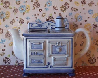 Vintage Antique Stove Teapot